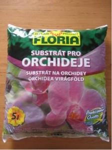 Substr�t pro orchideje FLORIA 5l