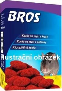 Bros - parafínové bloky na myši a potkany 100g